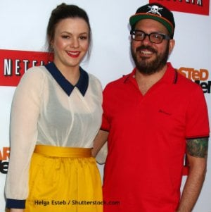 David Cross and Amber Tamblyn, 21-Year Age Difference