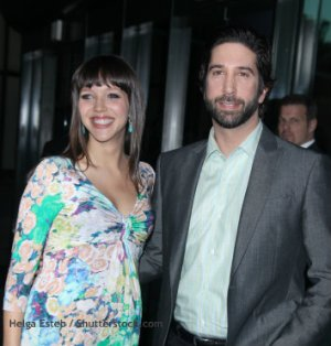 David Schwimmer and Zoe Buckman, 18-Year Age Difference