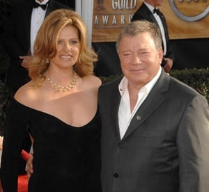 William Shatner and Elizabeth Martin, 27-Year Age Difference