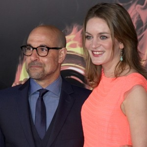 Stanley Tucci and Felicity Blunt, 20-Year Age Difference