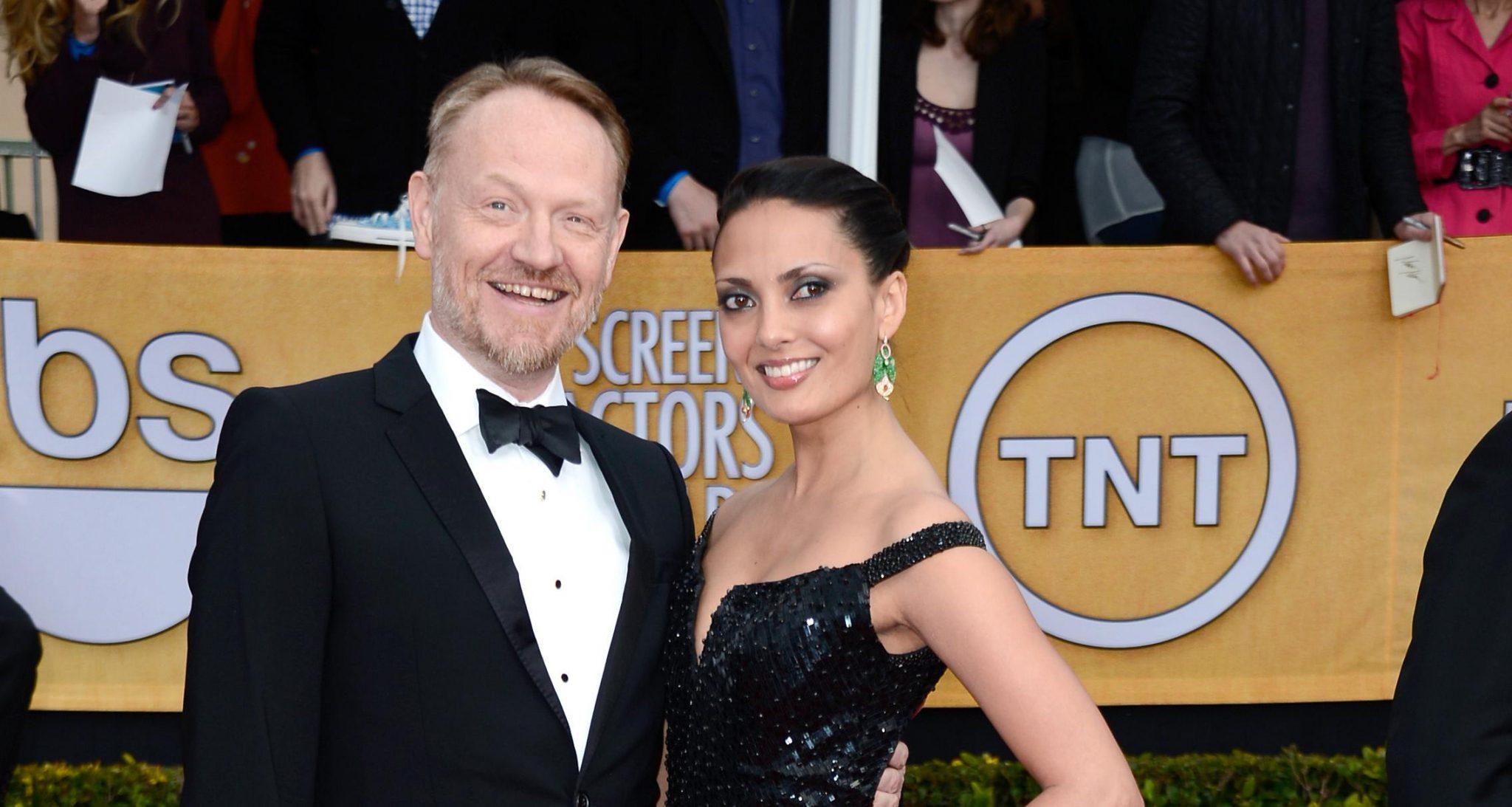 Allegra Riggio and Jared Harris