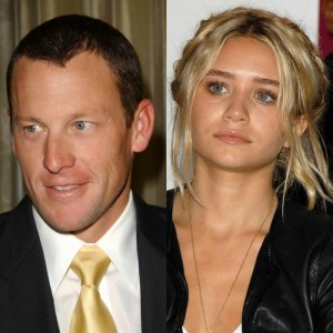 lance armstrong dating olson twin