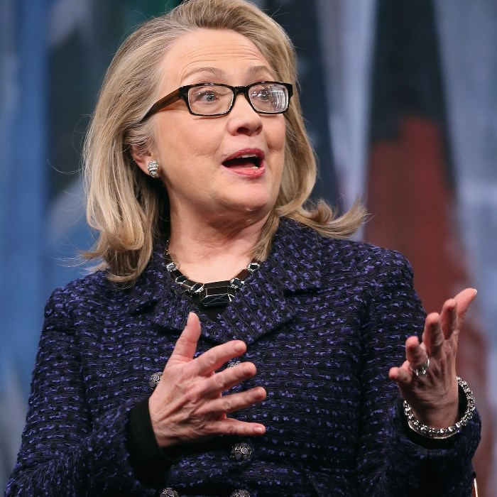 Hillary Clinton Talking