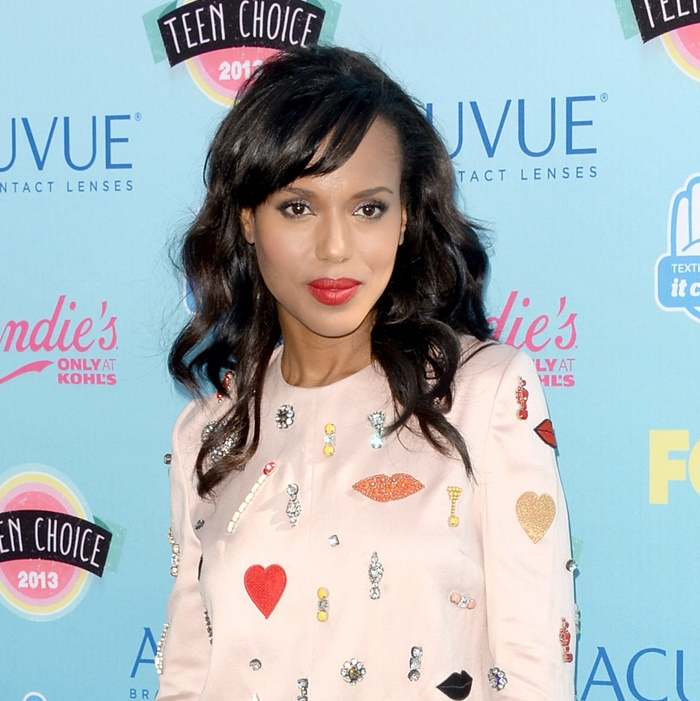 "Kerry Washington Reveals Her ""Celebrity Crush"" on Twitter"