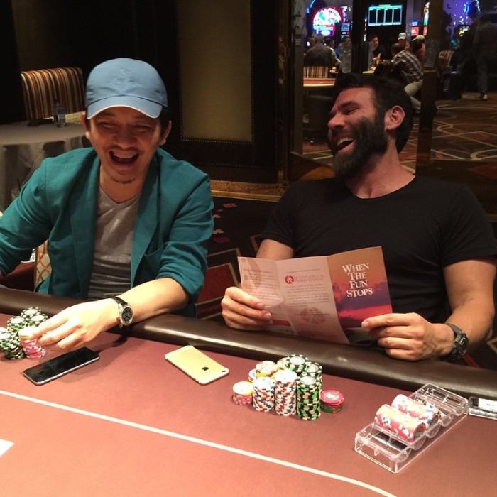Dan Bilzerian Instagram Poker Player Chips Millions
