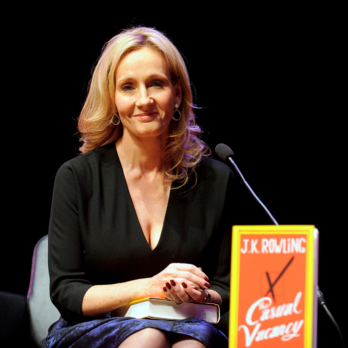 J K Rowling Suffers Unexpected Bump In The Road With Her