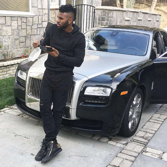 photo of Jason DeRulo Rolls Royce - car