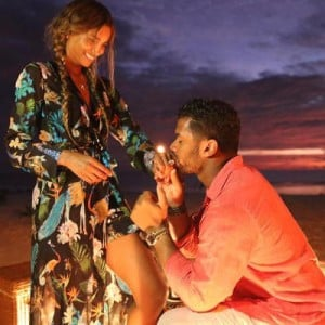 Ciara Engagement With Russell Wilson