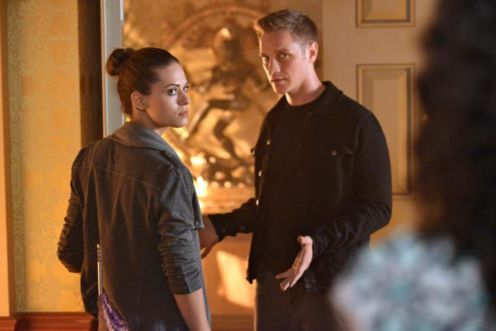 Devon Sawa with nikita