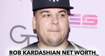 How Rich is Rob Kardashian