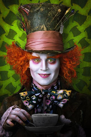 Johnny Depp as Madhatter