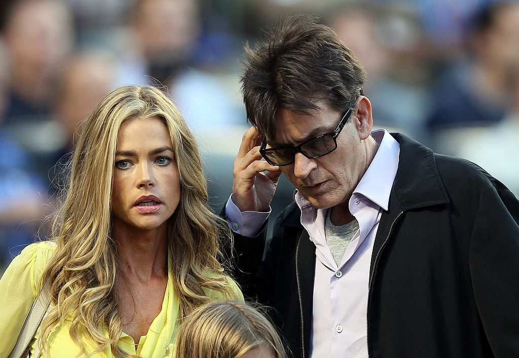 how many times is charlie sheen married