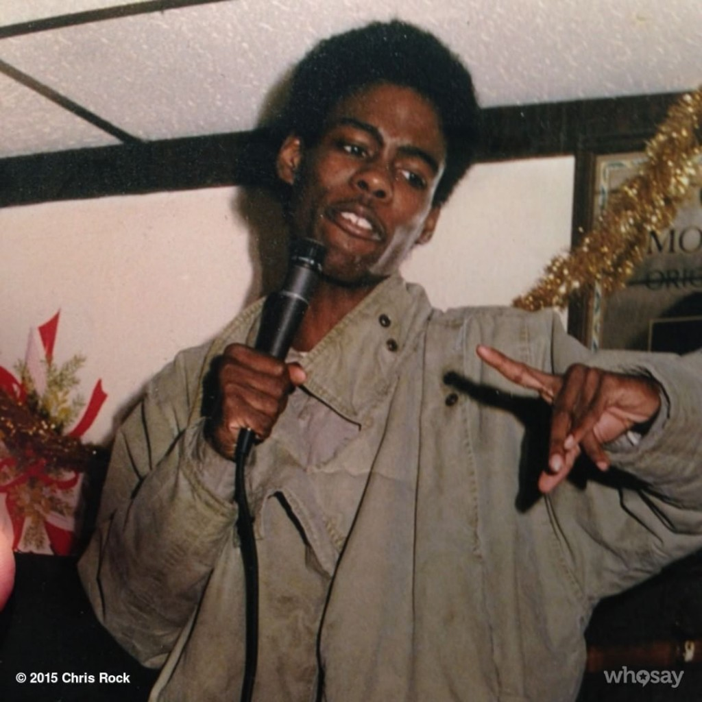 young chris rock rapping