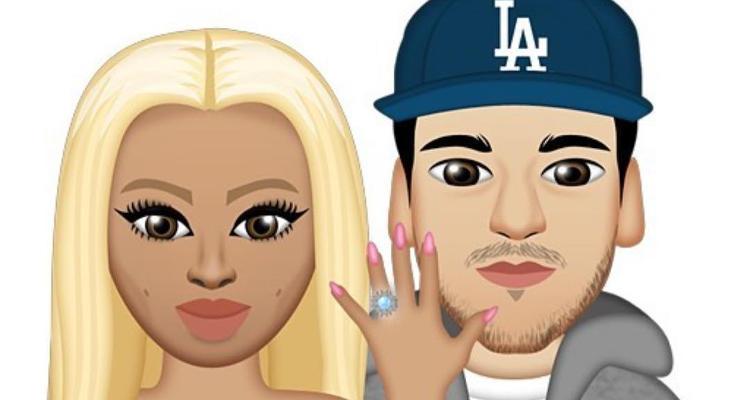 Blac Chyna & Rob Kardashian