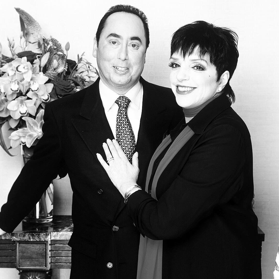 David Gest and Liza