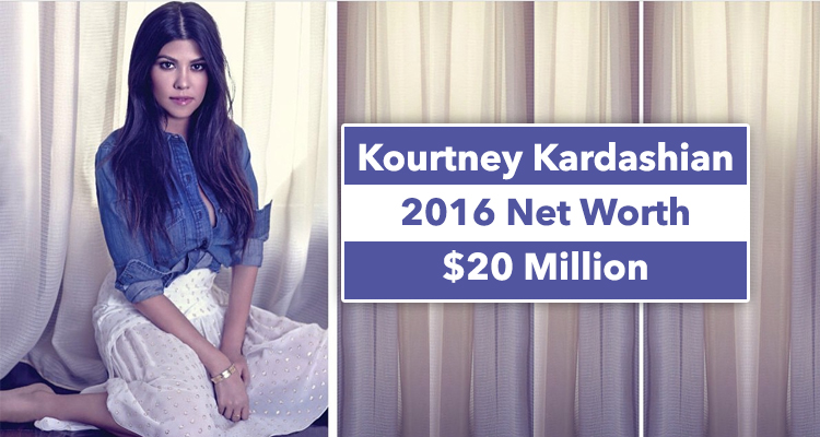 Kourtney Kardashian Net Worth in 2016: The Most Humble ... - photo#41