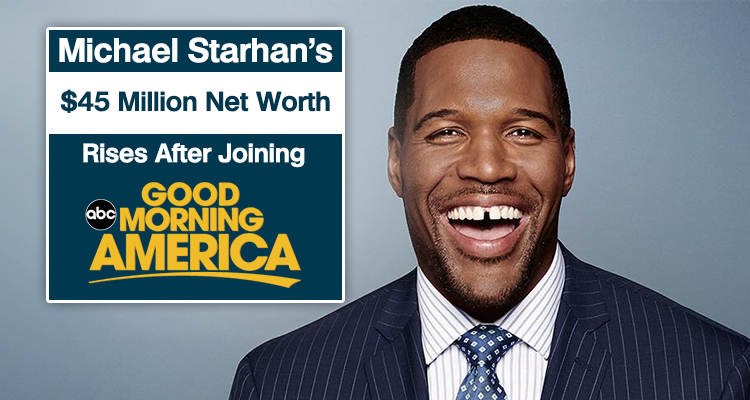 """Good Morning America Net Worth : Michael strahan net worth may hike after joining """"good"""
