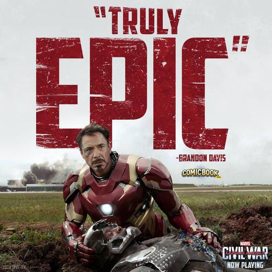 Captain America Civil War: ComicBook Review