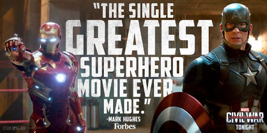 Captain America Civil War: Forbes Review
