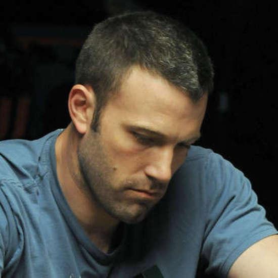 Ben Affleck playing poker