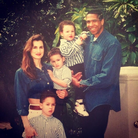 Klay Thompson With his Family