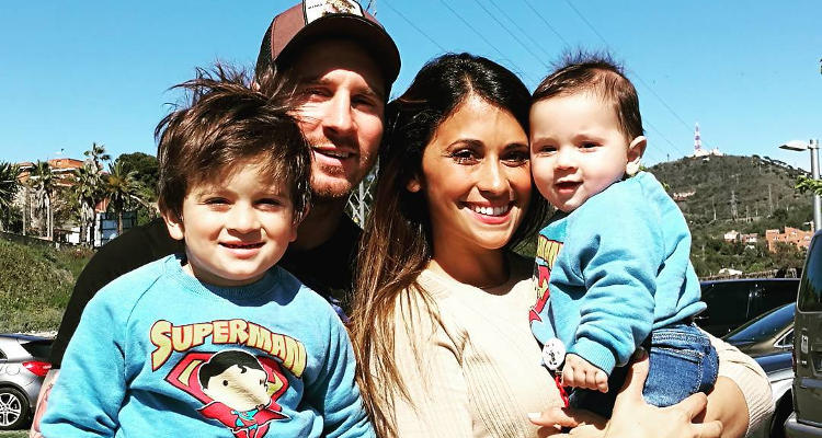 Lionel Messi Girlfriend and Kids