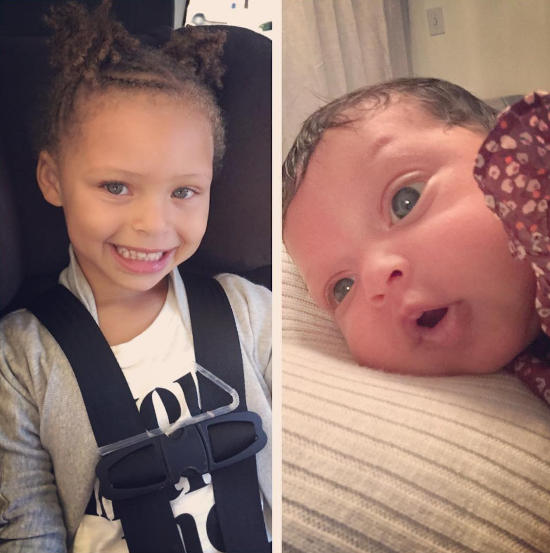 Stephen Curry Daughters