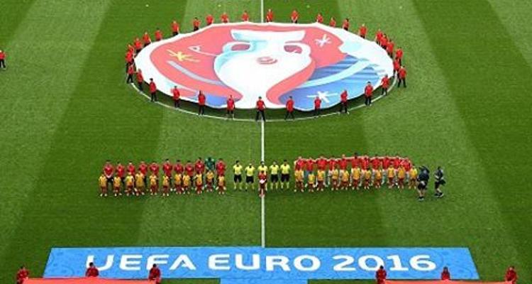 UEFA Euro 2016 Wall Chart