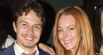 10 Photos You Need to See of Lindsay Lohans Fiance