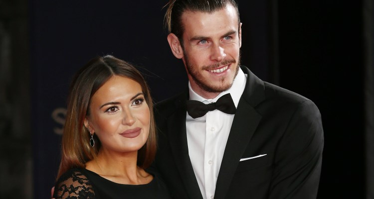 Gareth Bale & Emma Rhys-Jones