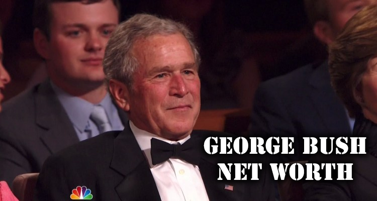 How Rich is George Bush