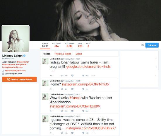 Is Lindsay Lohan Pregnant
