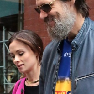Jim Carrey & Cathriona White