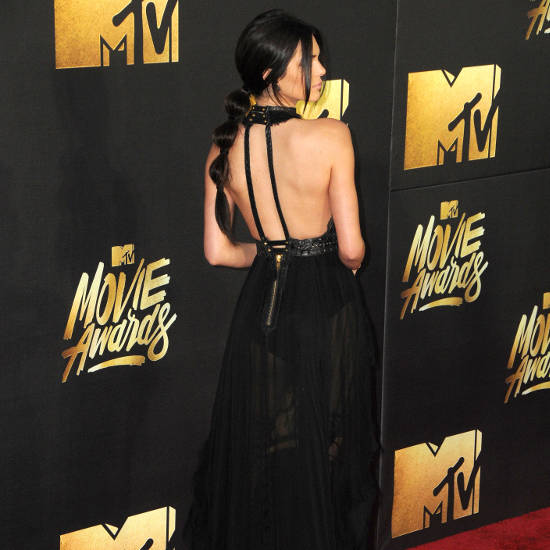 Kendall Jenner sexy backless
