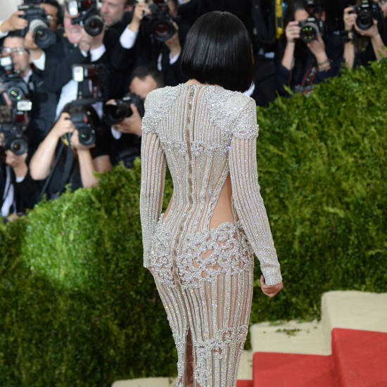 Kylie Jenner near nude