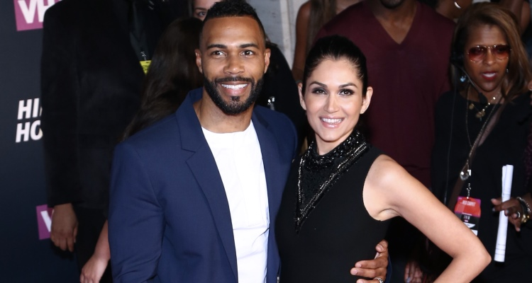 Omari Hardwick and Lela Loren