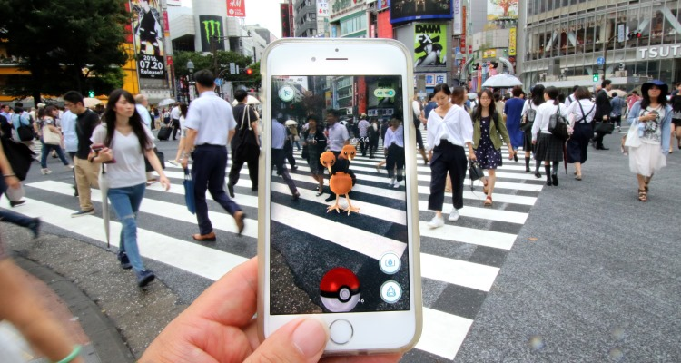 Pokemon Go -Aflo - Splash News