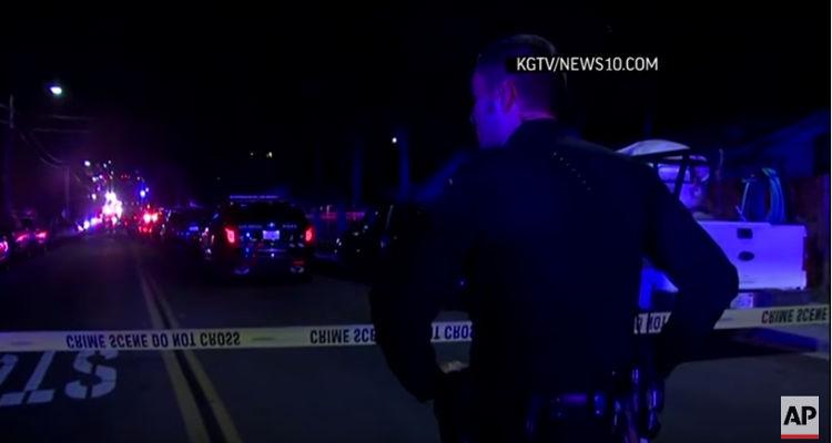 San Diego Police Officer Shot