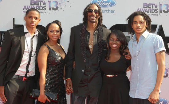 Shante Broadus and Snoop Dogg