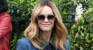 Vanessa Paradis Attends the Chanel Lunch in Paris