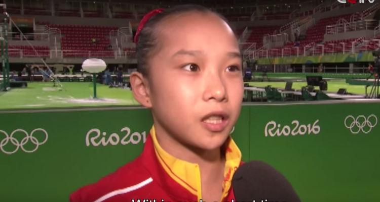 China Gymnastics Team 2016 Ages