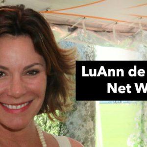 How Rich is LuAnn de Lesseps