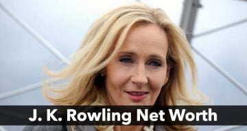 J K Rowling Net Worth