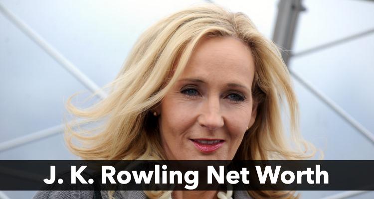 J K Rowling Net Worth