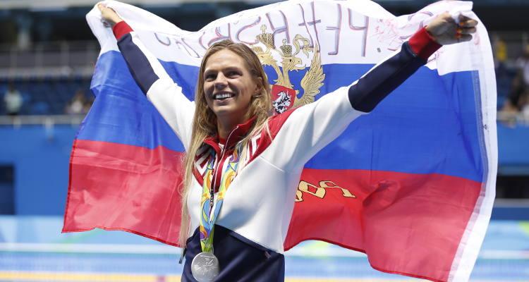 Russian Swimmer Yulia Efimova