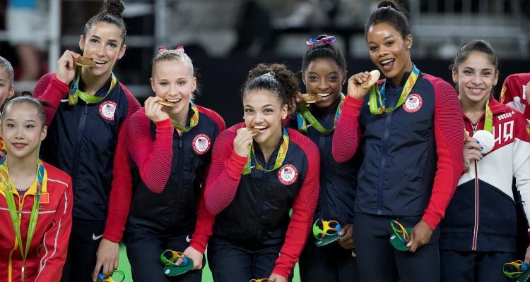 Team U.S.A-Gymnastics