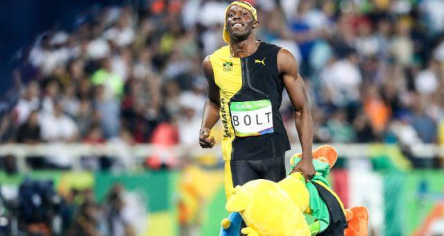 Usain Bolt Rio 2016 Olympics