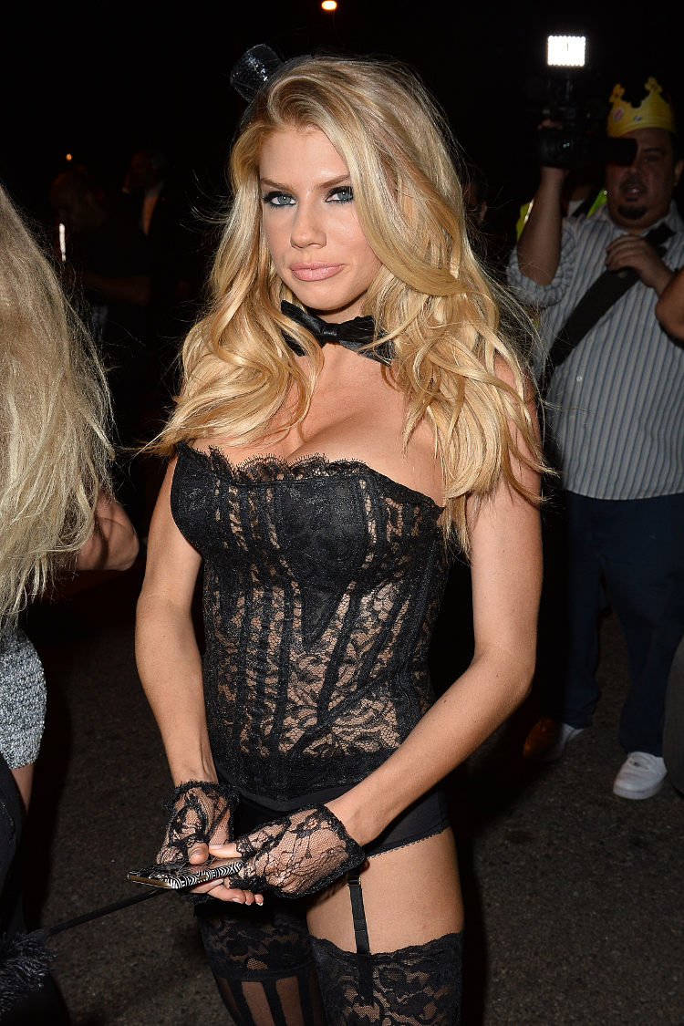charlotte mckinney hot transparent dress