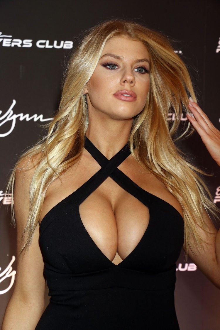 charlotte mckinney hot cleavage