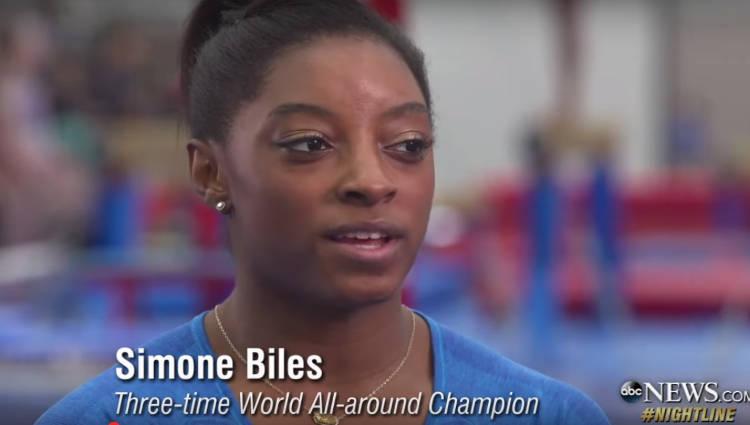 NBC announcer apologizes for comment about Simone Biles' parents